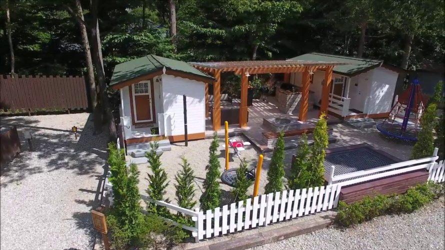 キャンプアンドキャビンズ那須高原のツインキャビン語らいは子連れキャンプに最強!