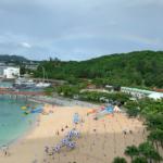 子連れで沖縄旅行4日目:あいにくの雨・・・だけどプールで遊ぶ!